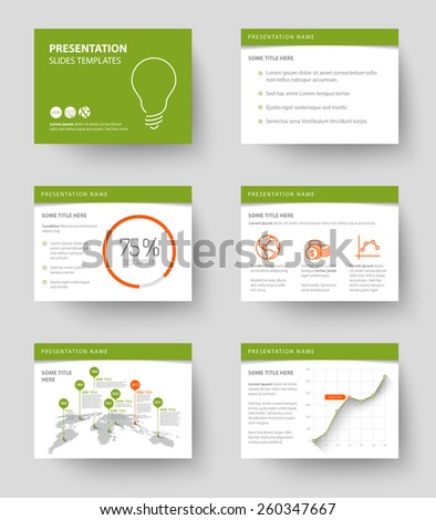 Green powerpoint background stock snmky snmky pro leny zdarma vector template for presentation slides with graphs and charts green and red version toneelgroepblik