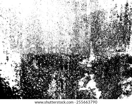 Vector Texture . Distress Texture . Grunge Texture . Dirt Texture . Overlay Texture . Simply Place Texture over any Object to Create Distressed Effect .  - stock vector