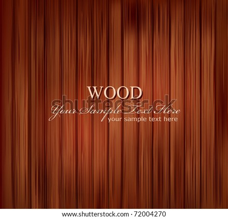 vector texture of wooden boards - stock vector