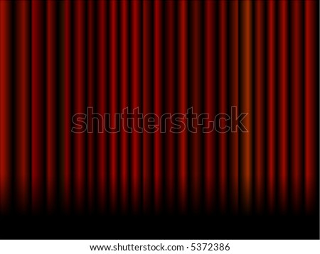 Vector theater or movie curtain