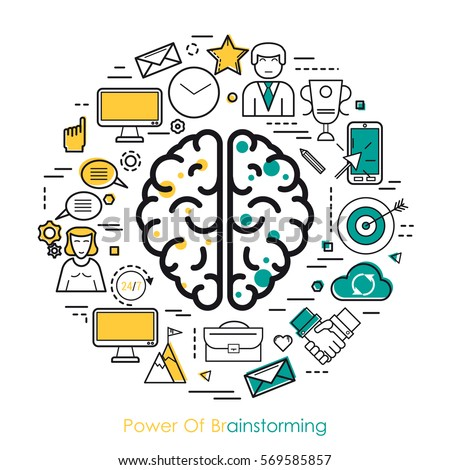 brainstorming stock images royalty free images vectors
