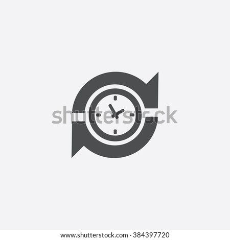 Vector time arrow Icon