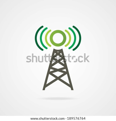 VECTOR TOWER. Eps-10. - stock vector