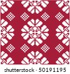 vector traditional baltic seamless pattern - stock vector