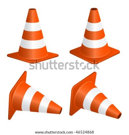 Traffic Cone Cartoon Traffic-cone Stock Vectors & Vector Clip Art | Shutterstock