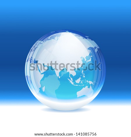 Vector transparent snow globe map layered stock vector 141085756 vector transparent snow globe with map layered gumiabroncs Gallery