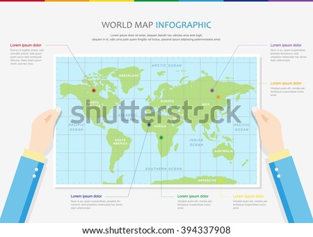 Vector travel world map illustration infographics vectores en stock vector travel world map illustration and infographics design template world map countries communication gumiabroncs Image collections