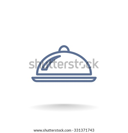 Vector tray icon