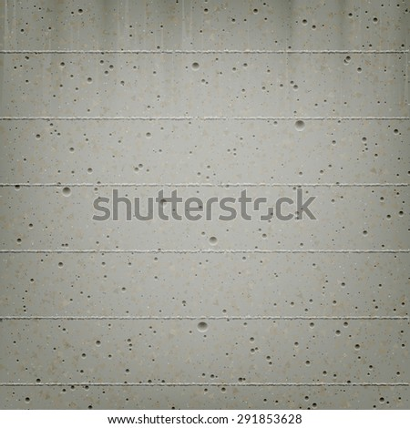Vector trendy concrete wall background. High quality design element. - stock vector
