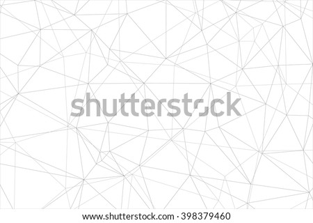 Vector Triangle Background. Abstract grey geometric Design Template . - stock vector