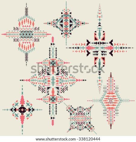 Kollibri 39 s portfolio on shutterstock for Aztec decoration