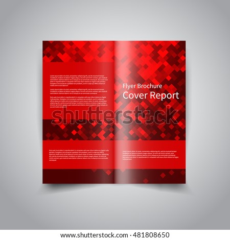 two fold brochure design - modern simple marketing business flyer amazing stock