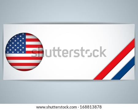 Vector - United States Country Set of Banners