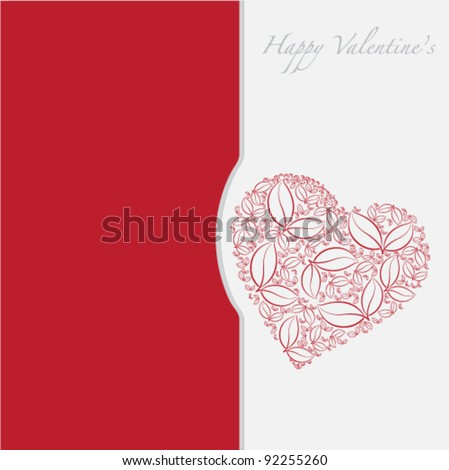 Vector Valentine Day Theme - stock vector
