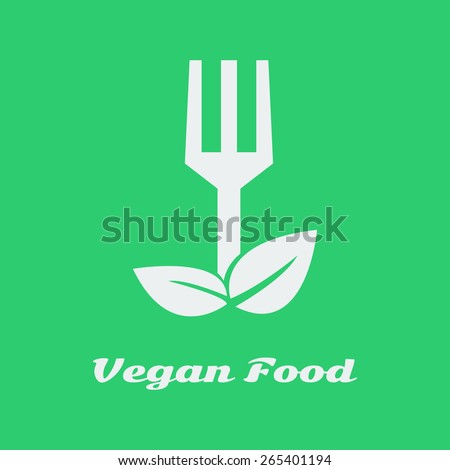 Vector vegan food. Organic cooking. File format eps 10. - stock vector