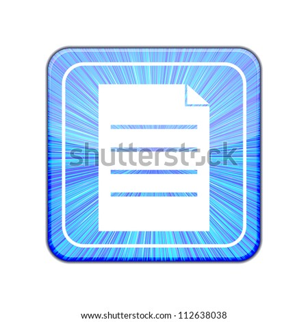 Vector version. Page icon. Eps 10 illustration - stock vector