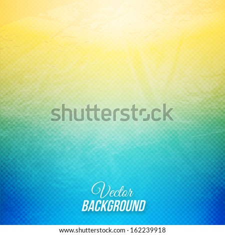 Vector vintage background with transparent grid and grunge texture - stock vector