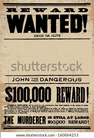 wanted stock images royalty free images vectors shutterstock