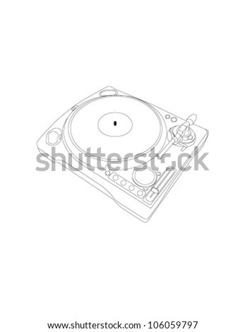vector vinyl player