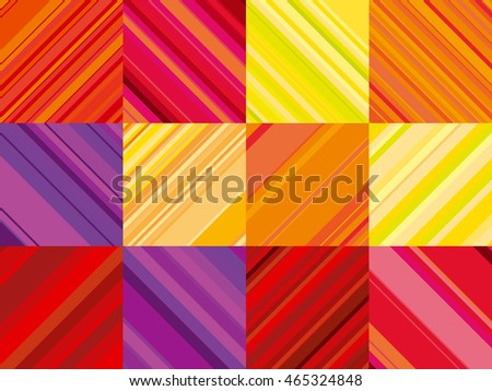 vector wallpaper with colorful stripe. line stripe style color design. pattern wallpaper. geometric background