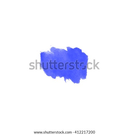 Vector watercolor background isolated. Watercolor texture, stains, watercolor splash blue. watercolour splash. Pastel, pink, light, transparent tone. - stock vector