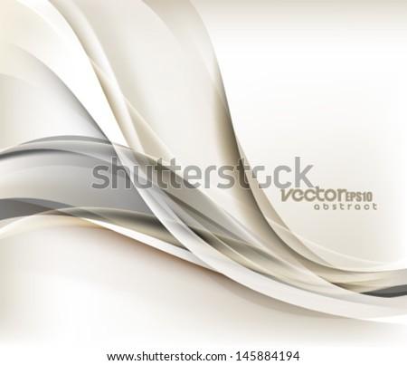Vector Wave Design - stock vector