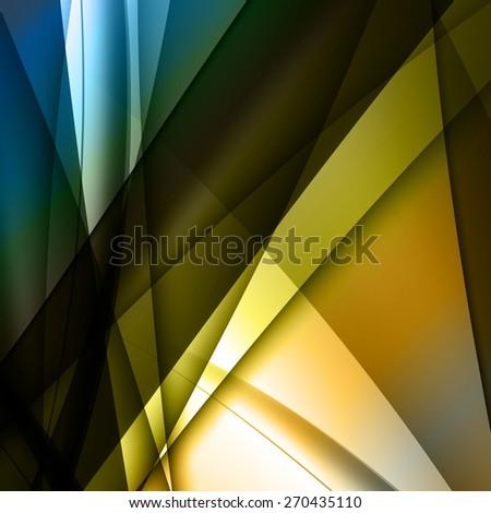 vector wavy lines, easy all editable - stock vector