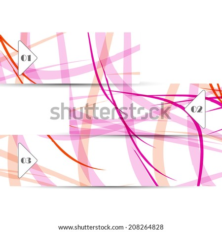 Vector web element for your design, abstract Illustration.