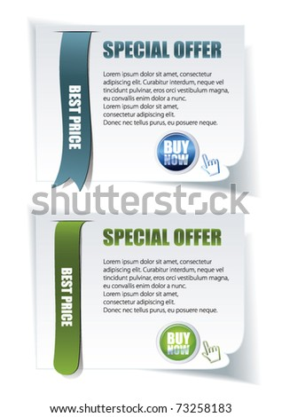 vector web elements for sale - stock vector