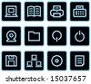Vector web icon Set - stock vector