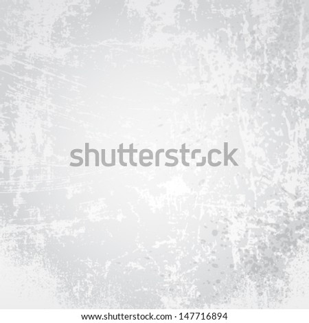 Vector white paper texture background. - stock vector
