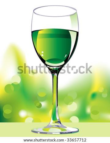 vector wine design - stock vector