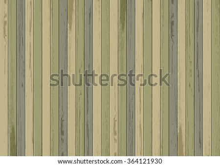 Vector wood texture background. Olive color - stock vector