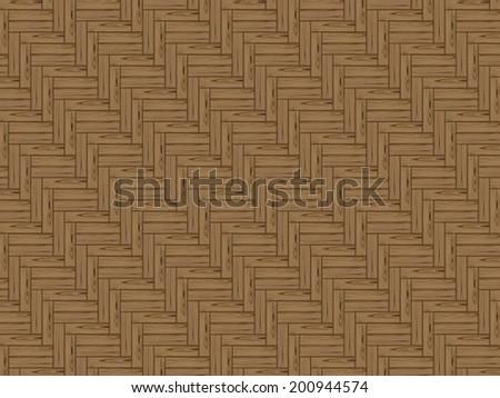 Vector wooden floor tiles - stock vector
