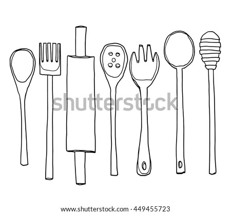 Baking Utensils Stock Images Royalty Free Images Vectors Shutterstock