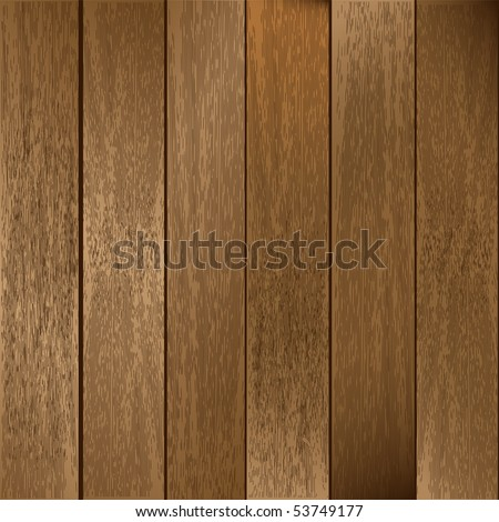 Vector Wooden Planks Background