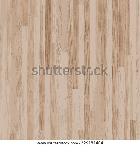 Vector wooden texture background. - stock vector