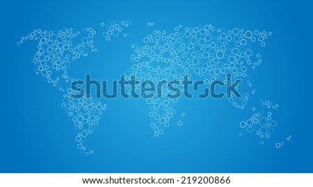 Vector world map background vectores en stock 219200866 shutterstock vector world map background gumiabroncs Image collections