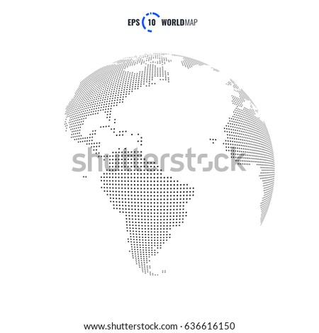 Vector world map globe template eps stock photo photo vector vector world map globe template eps 10 gumiabroncs Image collections