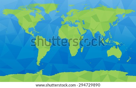 Vector world map large size stock vector 294729890 shutterstock vector world map large size gumiabroncs Gallery