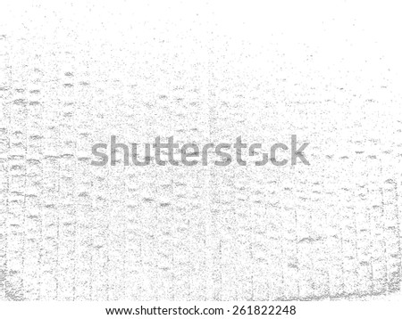 Vector Wrinkly Crumpled Cardboard Texture Background . Grunge Distress Overlay Sketch Paper Texture . - stock vector