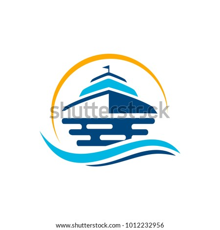 Vector yacht club logo design template stock vector 1012232956 vector yacht club logo design template toneelgroepblik Image collections