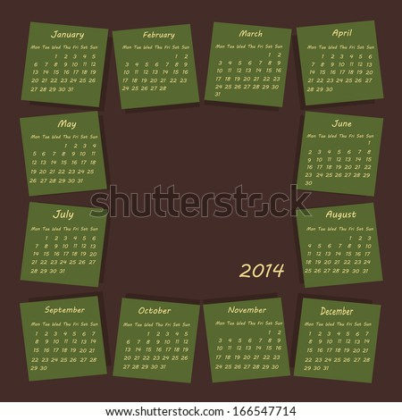 Calendary Stock Photos, Illustrations, and Vector Art