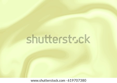 Vector Yellow Marble Ink Texture. Abstract Background