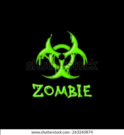 Vector zombie elemrts-03 - stock vector