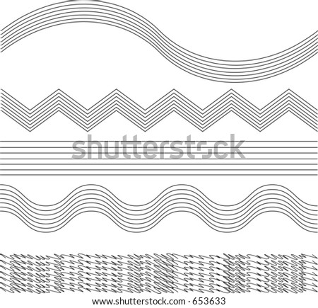 vectorized decorative border