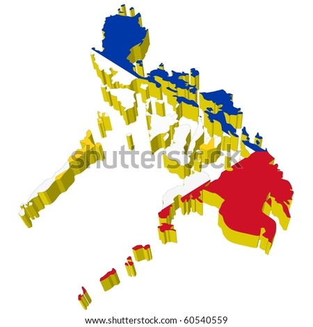 Philippines Map Stock Photos Images Amp Pictures