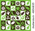 Vegetables checked pattern - others of same series : http://www.shutterstock.com/lightboxes.mhtml?lightbox_id=616270 - stock vector