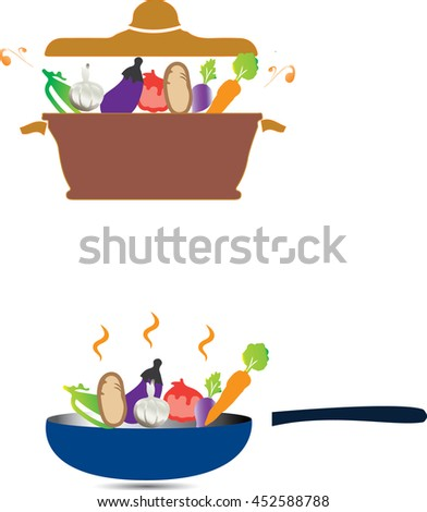 Vegetables in Hot Pot