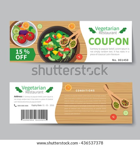 Mealvoucher Images RoyaltyFree Images Vectors – Free Lunch Coupon Template